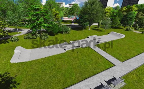 Skatepark betonowy 132014