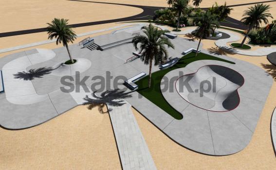 Skatepark betonowy 545857