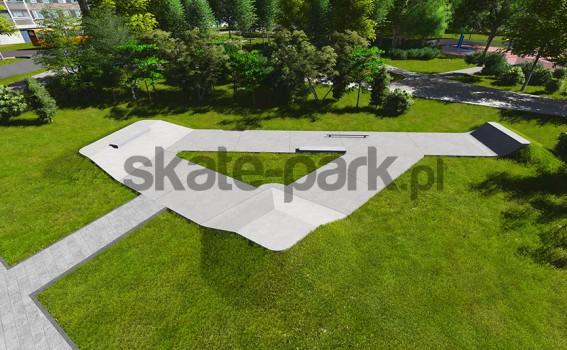 Skatepark betonowy 620813