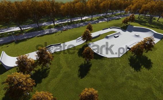Skatepark betonowy 652515