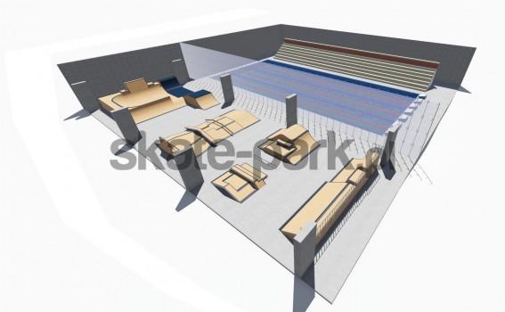 Skatepark modułowy 256321