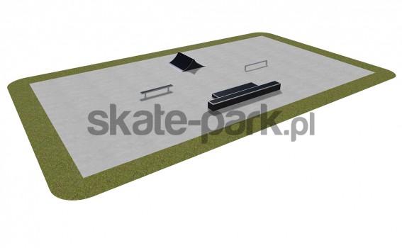 Skatepark modułowy 390115