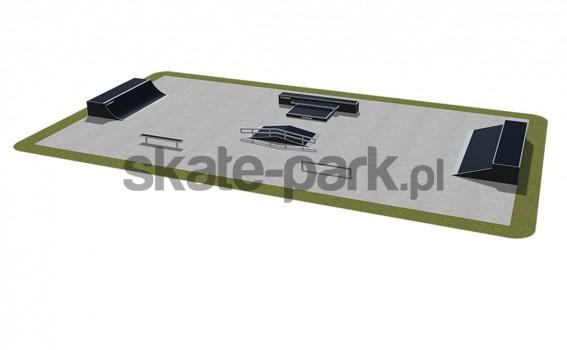 Skatepark modułowy 490115