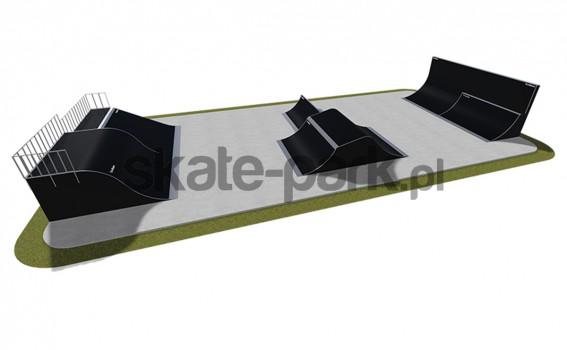 Skatepark modułowy 510115