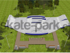 Projekt skateparku betonowego