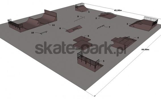 Przykładowy skatepark 050111