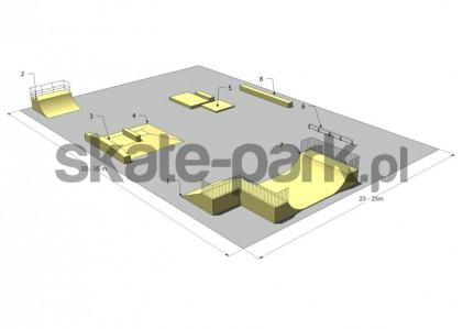 Przykładowy skatepark 060309
