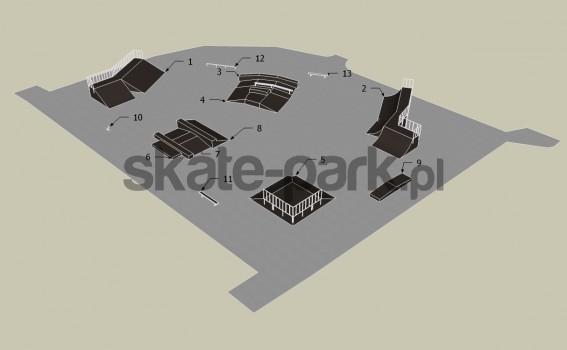 Przykładowy skatepark 071209