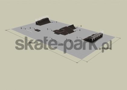 Przykładowy skatepark 080509