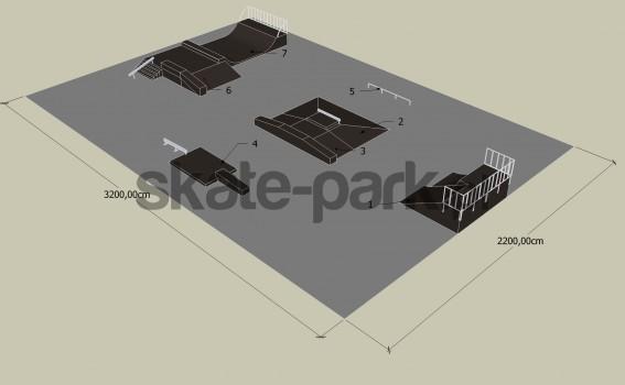 Przykładowy skatepark 081009