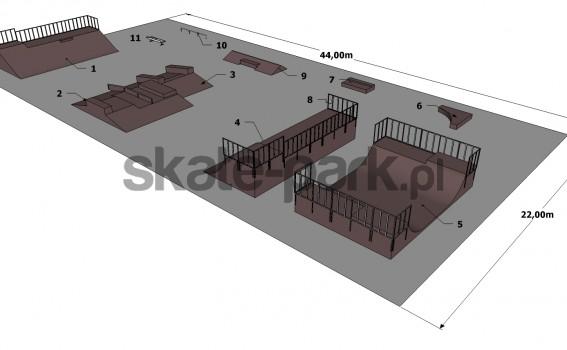 Przykładowy skatepark 101210