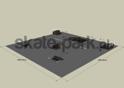 Przykładowy skatepark 110709