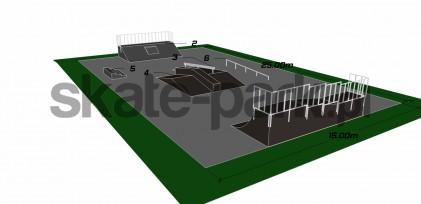 Przykładowy skatepark 130810