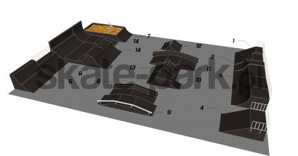 Przykładowy skatepark 150111