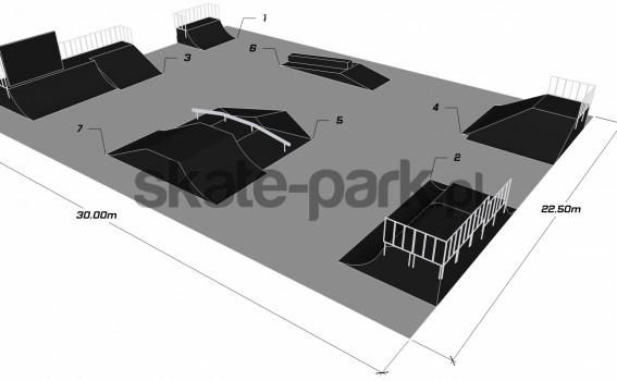 Przykładowy skatepark 180511