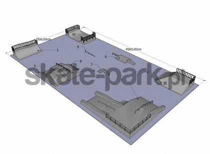 Przykładowy skatepark 190409