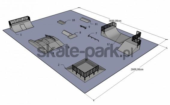 Przykładowy skatepark 200410