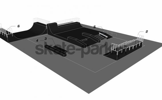 Przykładowy skatepark 210211