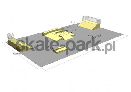 Przykładowy skatepark 240209
