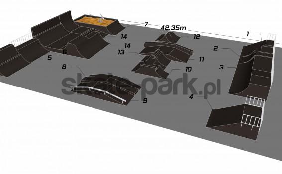 Przykładowy skatepark 301010