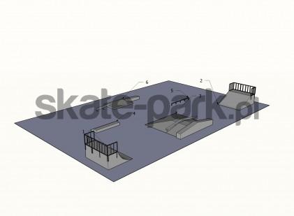 Przykładowy skatepark 400309