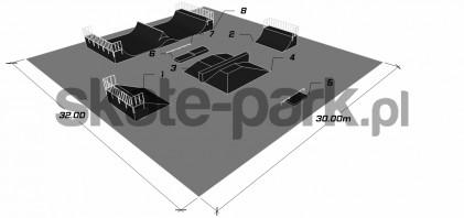 Przykładowy skatepark 850411