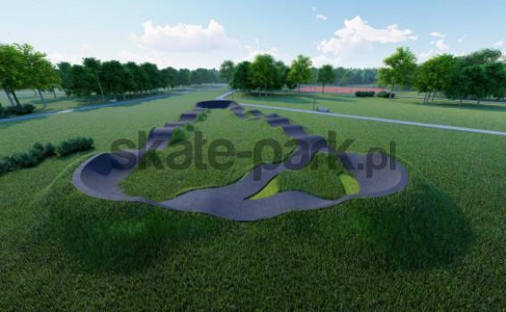 Pumptrack asfaltowy