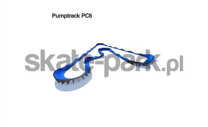 Pumptrack modułowy PC6