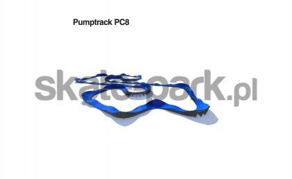Pumptrack modułowy PC8