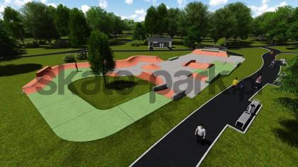Skatepark betonowy 081514