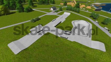 Skatepark betonowy 092013