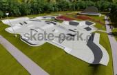 Skatepark betonowy 143695