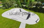 Skatepark betonowy 390113