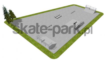 Skatepark betonowy OF2008004NW