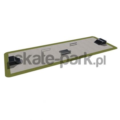 Skatepark modułowy 410115