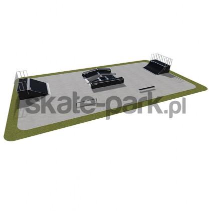 Skatepark modułowy 440115