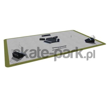 Skatepark modułowy 480115