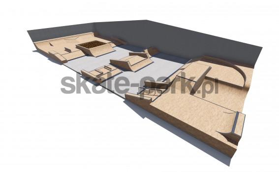 Skatepark modułowy 529700