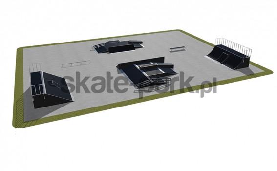 Skatepark modułowy 540115