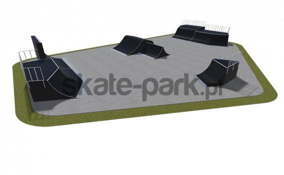 Skatepark modułowy 550115