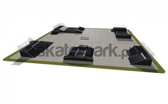 Skatepark modułowy 560115