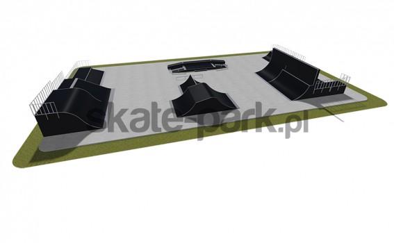 Skatepark modułowy 570115