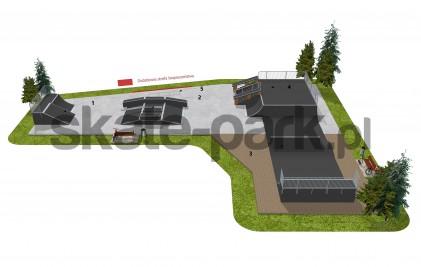 Skatepark modułowy OF2007008NW