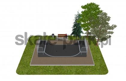 Skatepark modułowy OF2007189NW