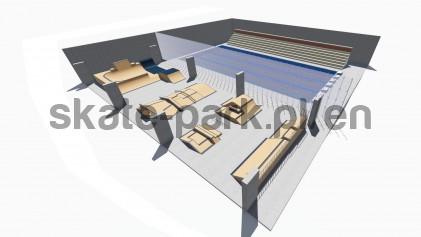 Modular skatepark 256321