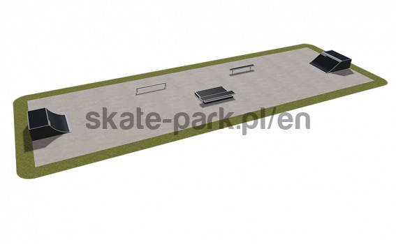 Modular skatepark 410115