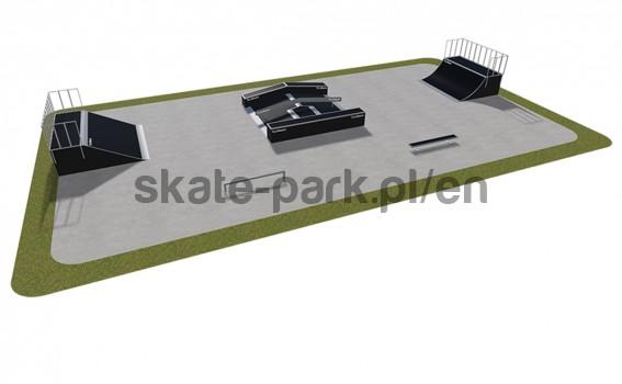Modular skatepark 440115