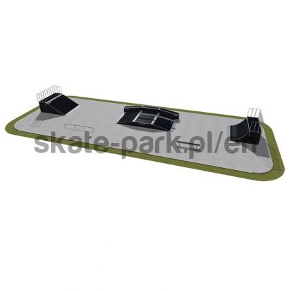 Modular skatepark 500115