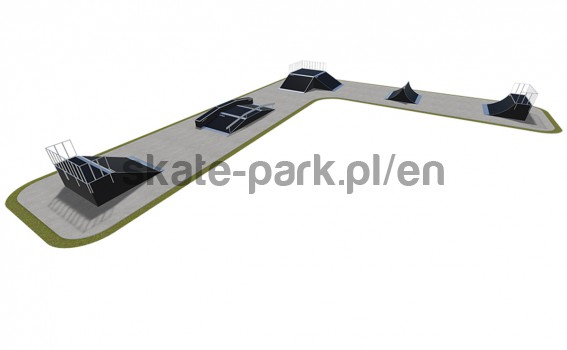 Modular skatepark 530115