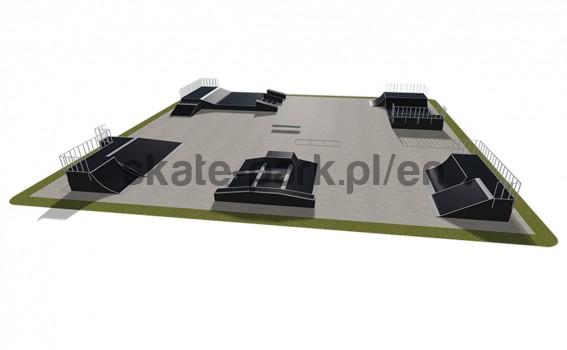 Modular skatepark 560115